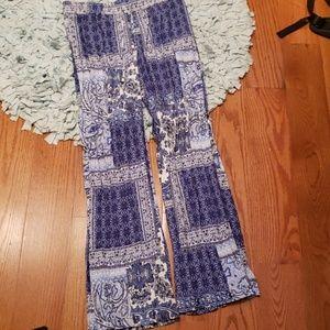 Pants - Comfy boho flare pants
